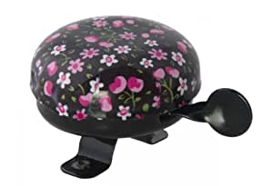 Bicycle Bell Pink Blossom Black by Liix
