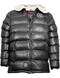 Geographical Norway Challenger-Cazadora acolchada, color gris