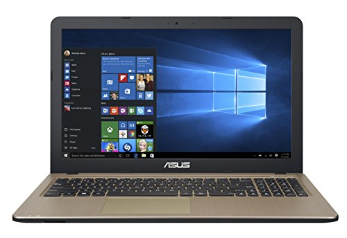 Asus X540SA-XX018T Portatile, Display da 15.6' HD LED, Processore Intel Pentium QuadCore N3700, RAM 4 GB, HDD da 500 GB, Marrone/Nero