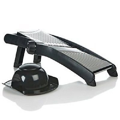 the-sharper-image-378-stainless-steel-3-in-1-adjustable-mandoline-slicer-by-the-sharper-image
