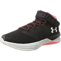Under Armour UA Get B Zee, Zapatos de Baloncesto Hombre, Negro (Black 20), 42 EU