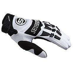 SEIBERTRON Guanti DIRTPAW sportivi MTB/ BMX e Motocross con imbottiture sulle nocche.