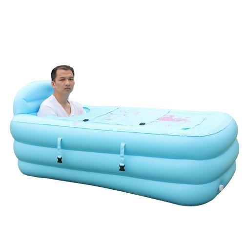 LIVY King-Size-aufblasbare gepolstert faltbare Badewanne Badewanne Badewanne für Erwachsene Pool Bad Lauf Bad barrel