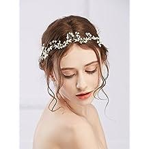 fcbcd229b430 Handmadejewelrylady Copricapo retrò da sposa