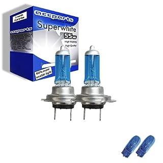 55w Super White Xenon High-Main-Full beam upgrade HeadLight Bulbs 3 SERIES E90 320d 01.05->