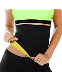 28cd72f3d0 ZURU BUNCH Cotton and Polyjrsey Shaper Slimming Belt for Men and Women  (Black