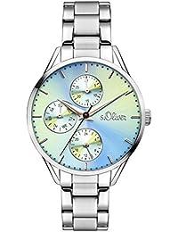 s.Oliver Damen-Armbanduhr SO-3218-MM