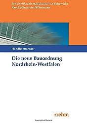 Die neue Bauordnung in Nordrhein-Westfalen: Handkommentar