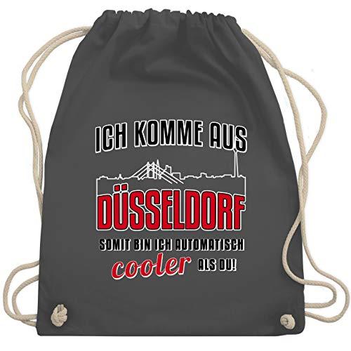 Städte - Ich komme aus Düsseldorf - Unisize - Dunkelgrau - WM110 - Turnbeutel & Gym Bag