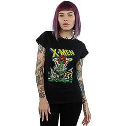 Marvel Mujer X-Men Enter The Phoenix Camiseta Negro Small