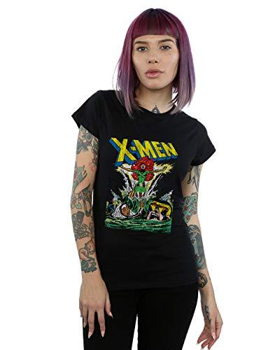 Marvel Mujer X-Men Enter The Phoenix Camiseta Negro X-Large