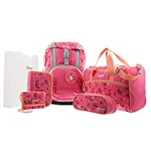 Samsonite Sammies Ergofit - Schoolbag-set 6-pieces, Pink (Ballerina Dreams)