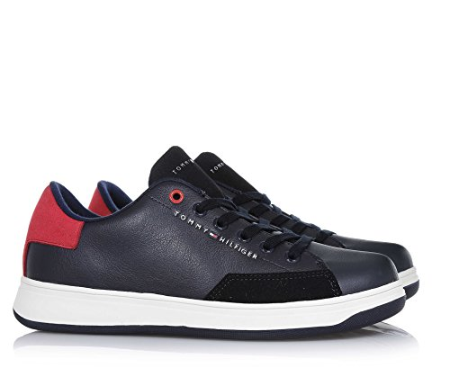 Tommy Hilfiger Zero Jr 5C Midnight Synthetic Sneakers Blu