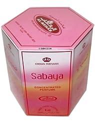Sabaya Perfume Oil - 6 x 6ml by Al Rehab