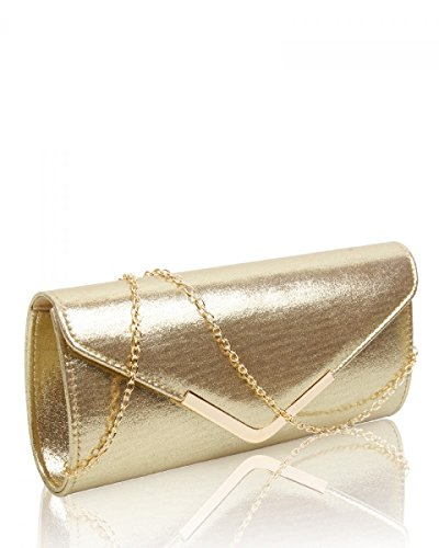 Craze London, Poschette giorno donna Gold