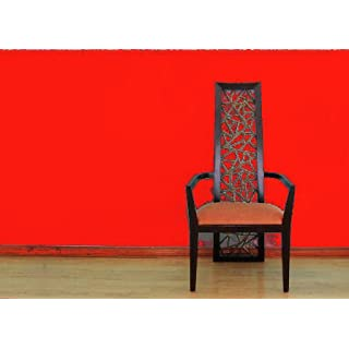 Amelia Plain Red Wallpaper 45979