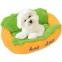 Longwei Nido de Mascotas, algodón Suave y Gruesa Nido de Perro Caliente Otoño Invierno Cálido