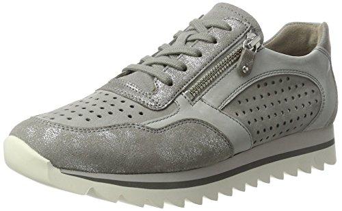 Gabor Shoes Fashion, Scarpe da Ginnastica Basse Donna Grigio (grau/delfin/stone 19)