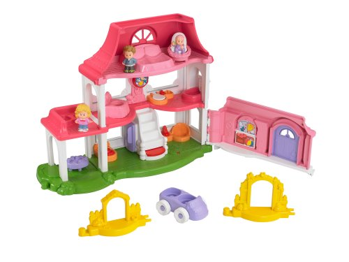 Fisher-Price Little People Happy Sounds Home (Bauernhof Little People)