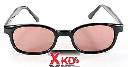 Pacific Coast X-Kd ES Sonnenbrille Rosa 10120 - Version Large One Size Schwarz