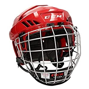 CCM Fitlite 40 Helm Combo Senior, Größe:XS;Farbe:rot