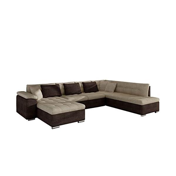 Eckcouch Ecksofa Niko Bis! Design Sofa Couch! mit Schlaffunktion und ...