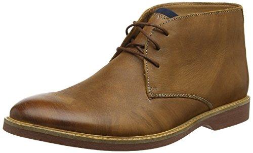 Clarks Herren Atticus Limit Chukka Boots, Braun (Tan Leather), 43 EU - Wasserdichte Herren Chukka