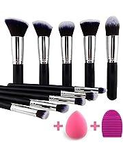 KYLIE Makeup Brushes Set Premium Synthetic Kabuki Foundatio