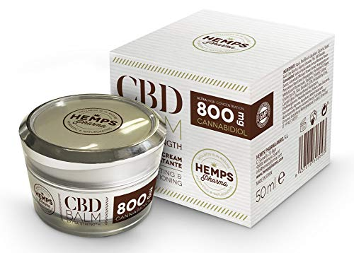 Hemps Pharma - Baume CBD extra fort | Crème au CBD (800 mg Cannabidiol) - 50 ml