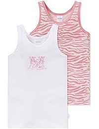 Schiesser Camiseta de Tirantes para Niñas (Pack de 2)