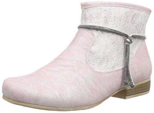 Rieker 97073, Bottes femme Rose - Pink (rose/altrose / 31)