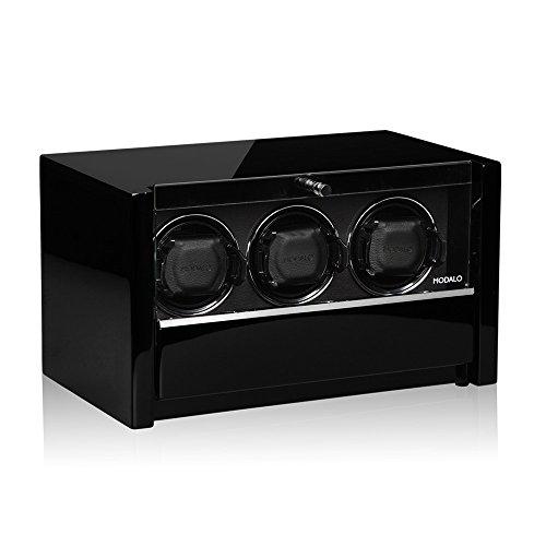Modalo Clasico MV3 Uhrenbeweger für 3 Automatikuhren in schwarz 3303113 - 3