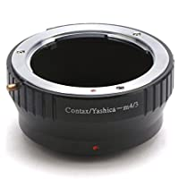 Joycorner® Jieying Adaptadores para Contax Yashica lens to Olympus E-P1 EP2 Panasonic GF1 GH1 DC51 M4/3 Adapter