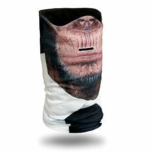 Beardo® Original Skimasken HD | Kälteschutz, Gesichtsschutz, Sturmmaske, Schlauchschal (Schimpanse)