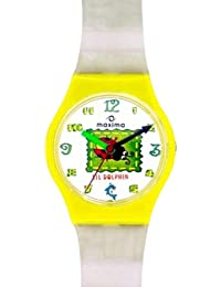 Maxima Analog White Dial Children's Watch - 04412PPKW
