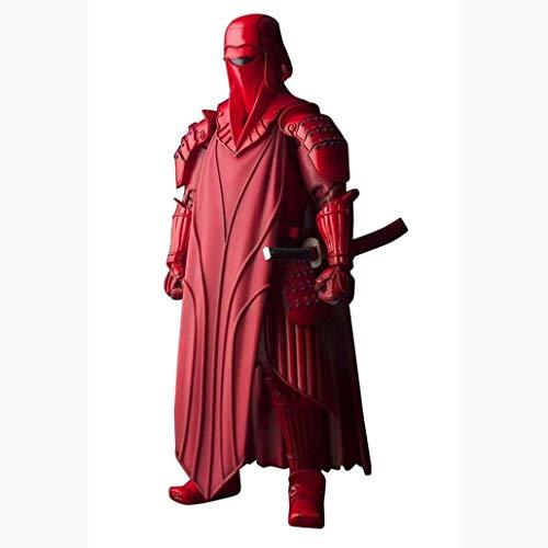 BGFtoy des Guerres Anime étoiles d'action de la Garde Royale Figures Les Gardes Rouges célèbres vêtements Rouges Peuvent Wearing Le Faire.