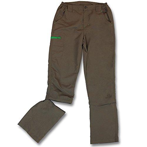 Preisvergleich Produktbild Kinder Trekking Hose - Outdoor Hose - Wanderhose Jungen - Jungenhose Outdoor mit Modellauswahl (134/140, Khaki)