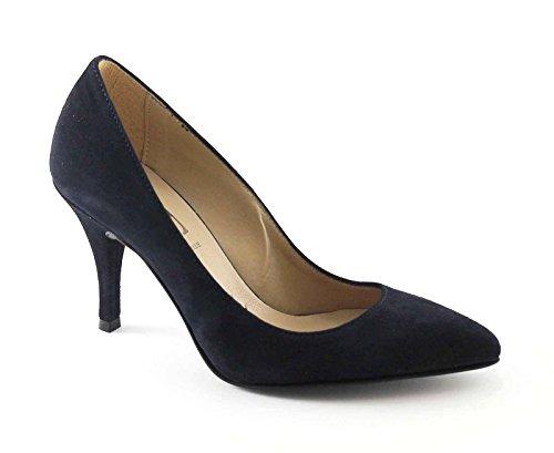 Divine Follie 420600 Blu Decolletè Donna Punta Tacco Blu
