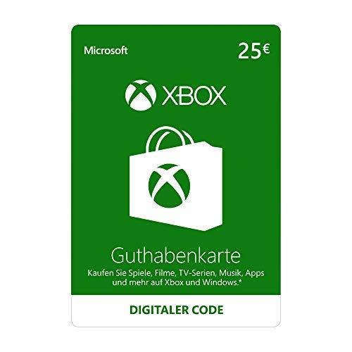 Xbox Live - 25 EUR Guthaben [Xbox Live Online Code]