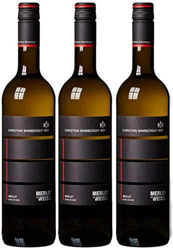 Weingut Christian Bamberger Merlot Blanc de Noir  Trocken (3 x 0.75 l)