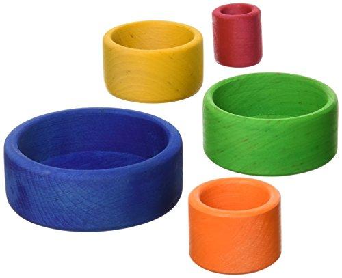 Cuencos multicolor apilables