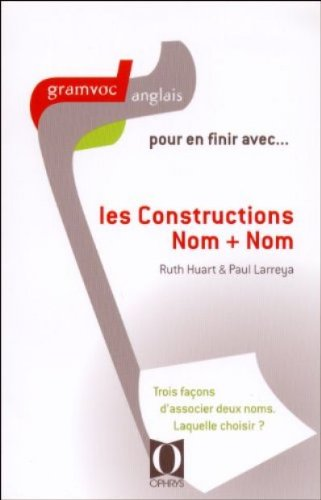 les constructions nom +nom