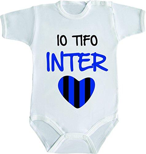 body-neonato-calcio-divertente-io-tifo-inter-3-mesi-bianco