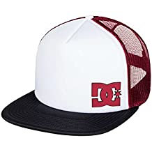DC Shoes Snappy Cap, Niños, Black/White-Combo