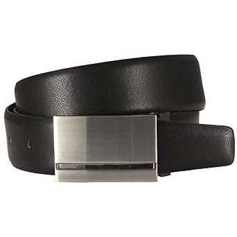 Ledergürtel LINDENMANN, 552723 Farbe schwarz, Größe:85