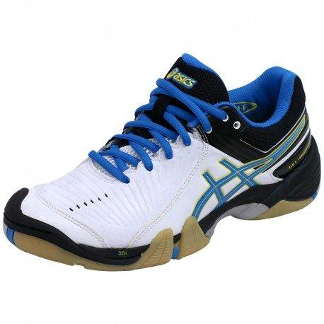 Asics - Gel-Domain 3 - Basket femme - Bleu/Blanc (White/Diva blue/Black) - 39,5 EU