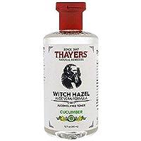 Thayers Cucumber Alcohol Free Witch Hazel Toner 12oz