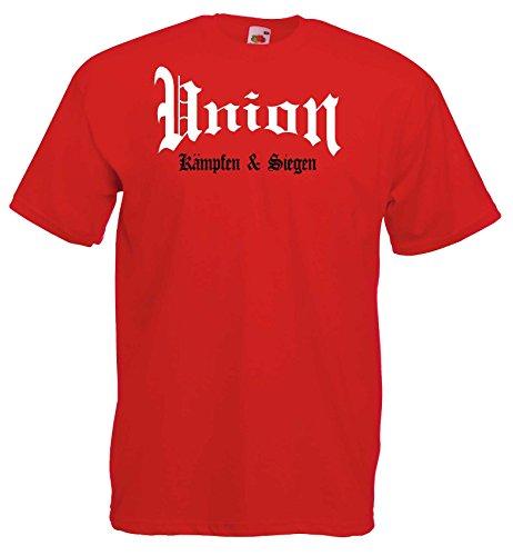 world-of-shirt Herren T-Shirt Union kämpfen und siegen