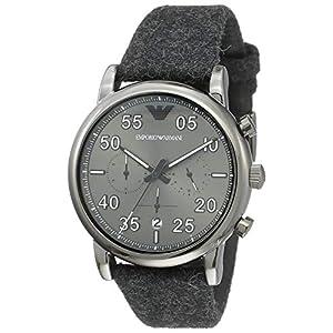 Emporio Armani Reloj Analógico para Hombre de Cuarzo con Correa en Tela AR11154