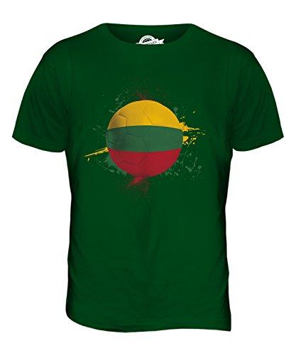 CandyMix Litauen Fußball Herren T Shirt Flaschengrün